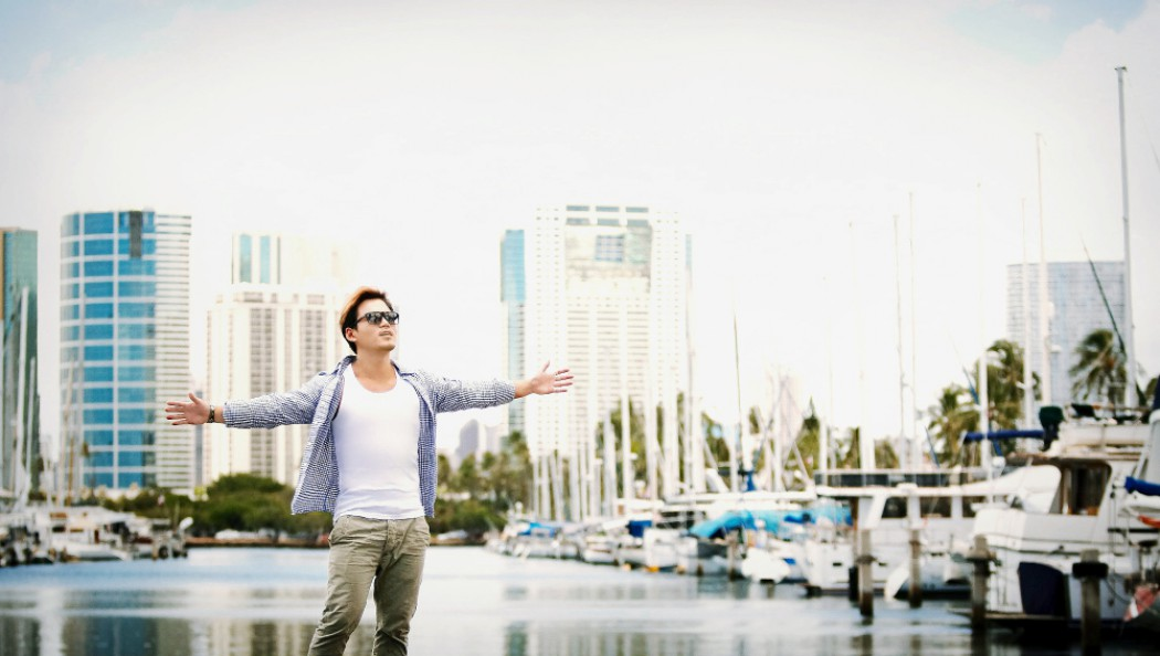 하와이에서 힐링!  '매거진 화보스타일의 하와이스냅' 가수 이정  2012년